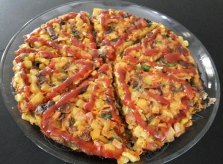 کوکوی هفت لشکر غذای خوشمزه و سنتی تبریز