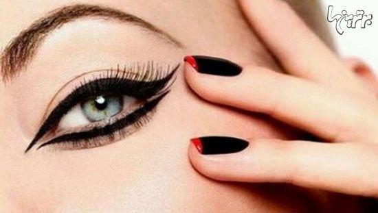 عکس هایی از زیباترین مدل های خط چشم زیبا و خاص