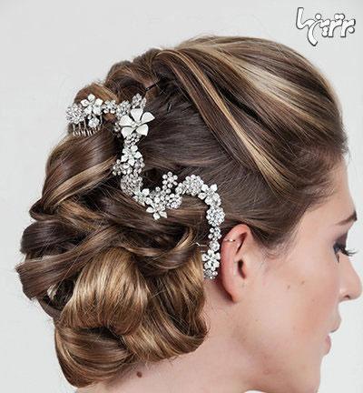 مدل های شینیون مو مخصوص عروس خانم ها