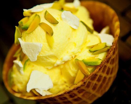 طرز تهیه بستنی سنتی خانگی خوشمزه