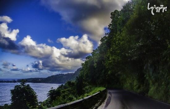 سفر در جاده های ساحلی بسیار زیبا در سراسر دنیا