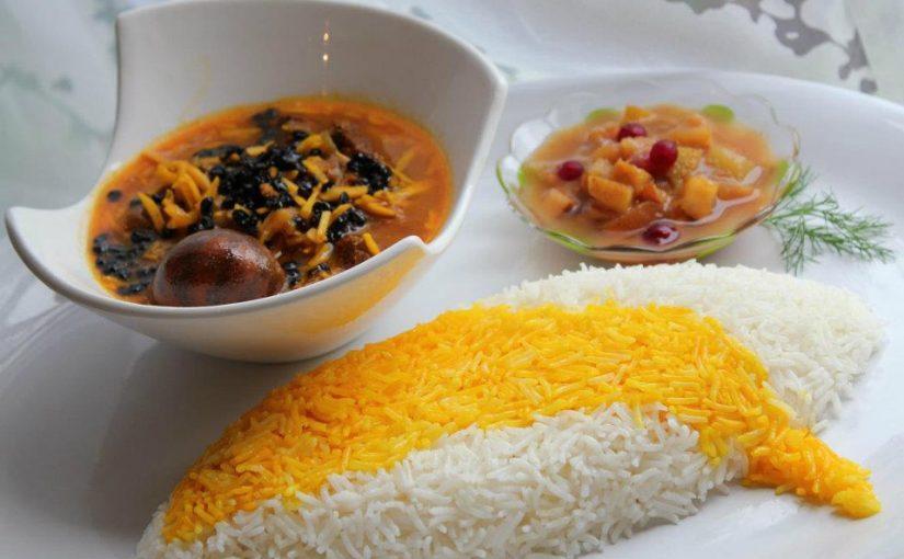 طرز تهیه خورش خلال غذای محلی کرمانشاه