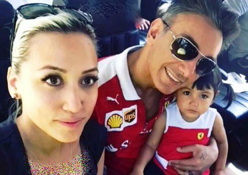 بیوگرافی و عکسهای شادمهر عقیلی و همسر و دخترش ملینا