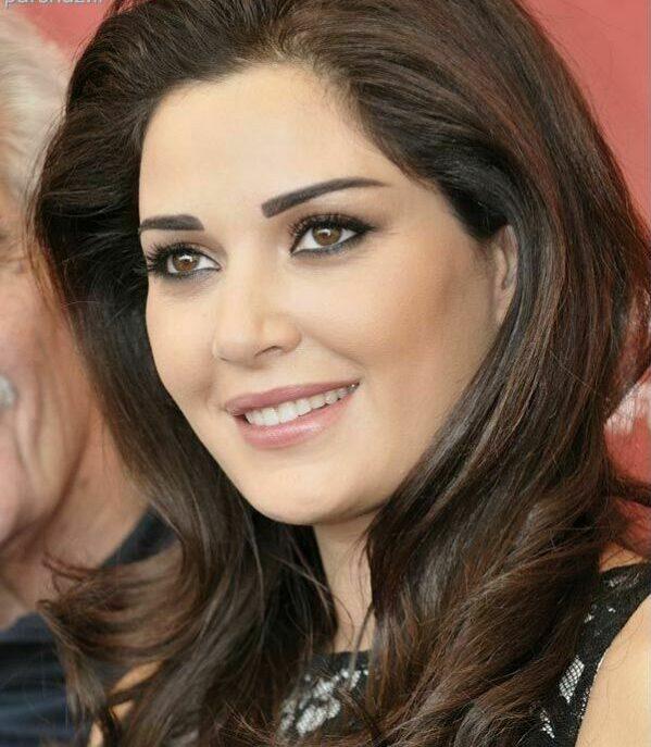 حنان خضر زن زیبای عرب