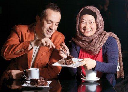 بیوگرافی احمد مهران فر، عکس های احمد مهران فر و همسرش