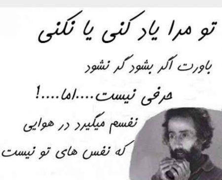 گلچین اشعار ناب و عاشقانه سهراب سپهری