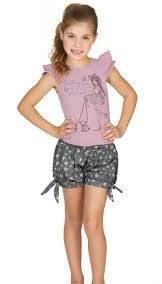 مدل تاپ و شلوارک دخترانه