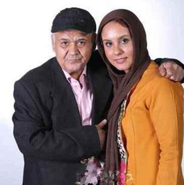 بیوگرافی اکبر عبدی؛ اکبر عبدی در کنار دخترش المیرا