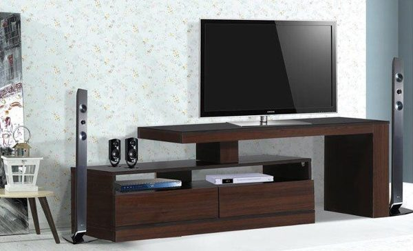 جدیدترین طرح ها و مدل های میز تلویزیون lcd و led چوبی
