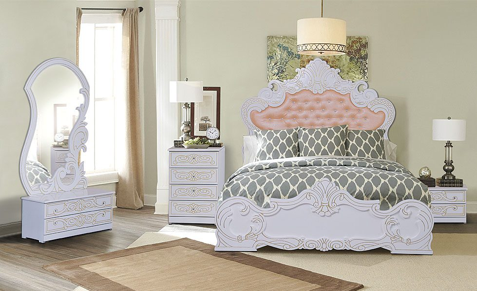 مدل سرویس خواب؛ انواع طرح ها و مدل های تخت خواب جدید و شیک