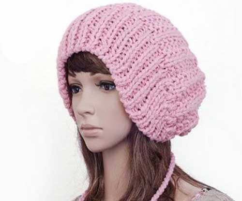 مدل شال و کلاه بافتنی زمستانی دخترانه و زنانه
