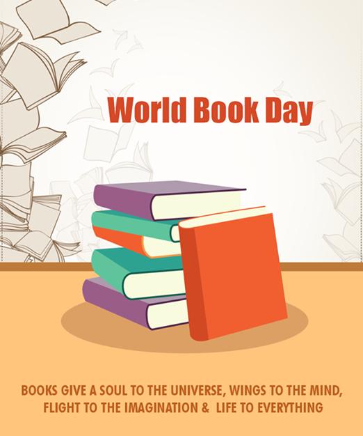 عکس نوشته پروفایل روز جهانی کتاب و کتابخوانی؛ عکس هفته کتاب و کتابخوانی