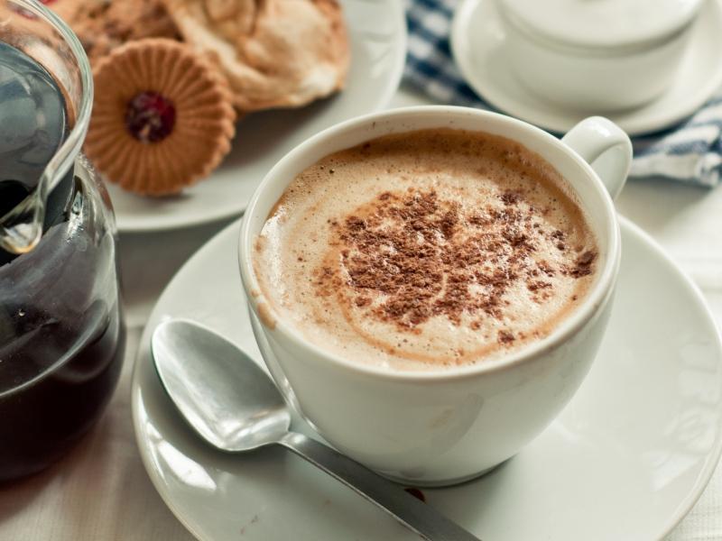 چگونه دسر خامه و قهوه خوشمزه درست کنیم؟