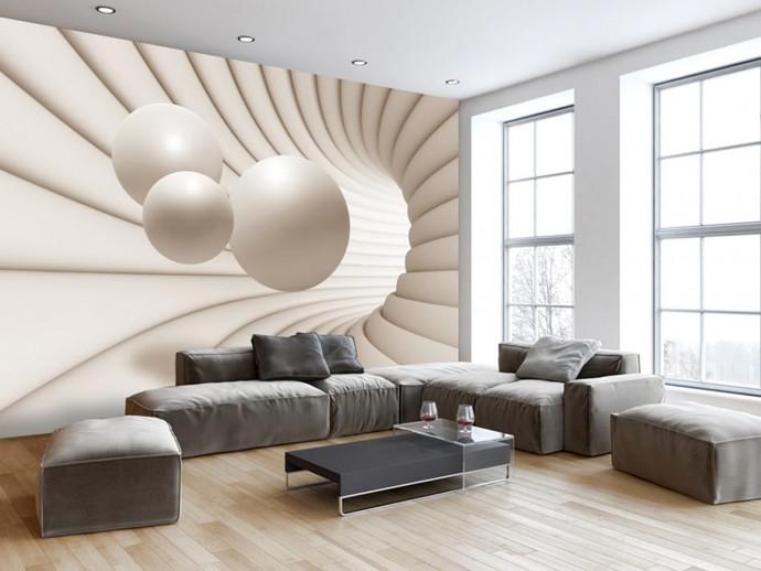 جدیدترین و شیک ترین کاغذ دیواری های سه بعدی
