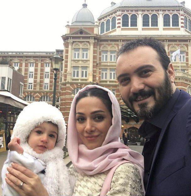 بیوگرافی کامبیز دیرباز، عکسهای کامبیر دیرباز و همسر و فرزندش