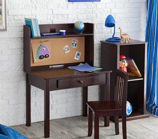 مدل میز تحریر کودک و نوجوان با طرح چوبی دخترانه و پسرانه
