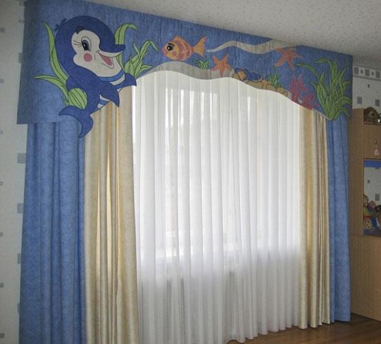 جدیدترین مدل پرده اتاق خواب کودک در رنگ ها و طرح های متنوع و فانتزی