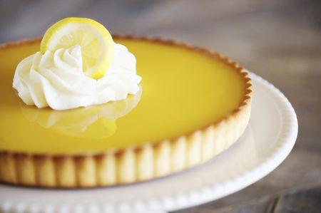 طرز تهیه تارت لیمویی خوشمزه