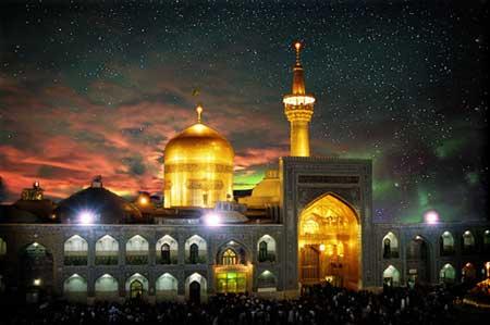 عکس حرم امام رضا در مشهد مقدس، عکس پروفایل آستان قدس رضوی