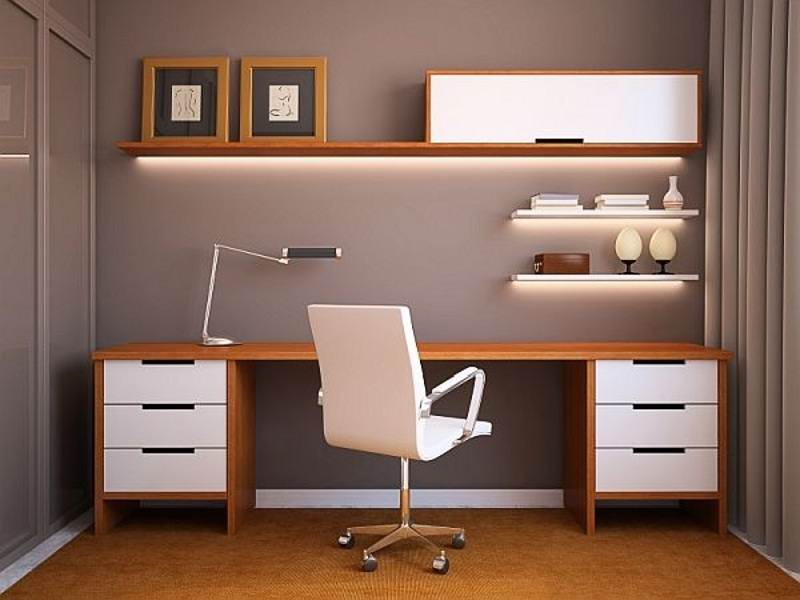 جدیدترین مدل میز کامپیوتر چوبی و ام دی اف