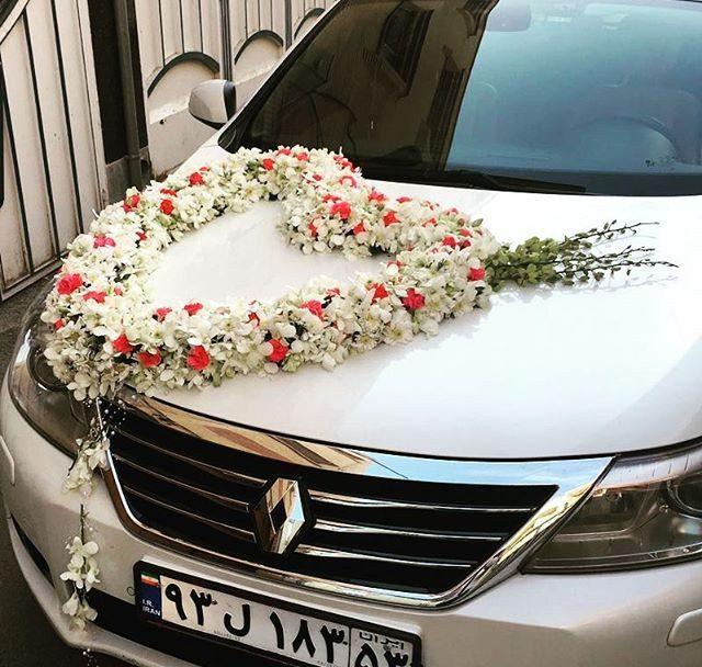 جدیدترین و زیباترین مدل تزئین ماشین عروس 2019