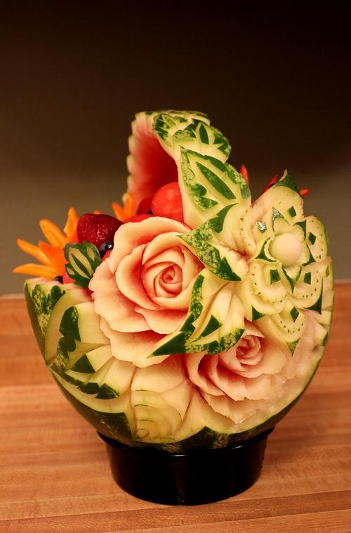 جدیدترین و زیباترین مدل تزئین هندوانه شب یلدا