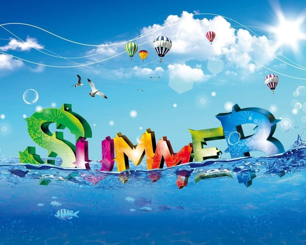 عکس بکگراند تابستان + متن و اس ام اس های فصل گرما و تابستان داغ برای پشت زمینه
