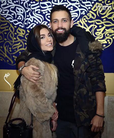 عکس های محسن افشانی و همسرش سویل تیانی