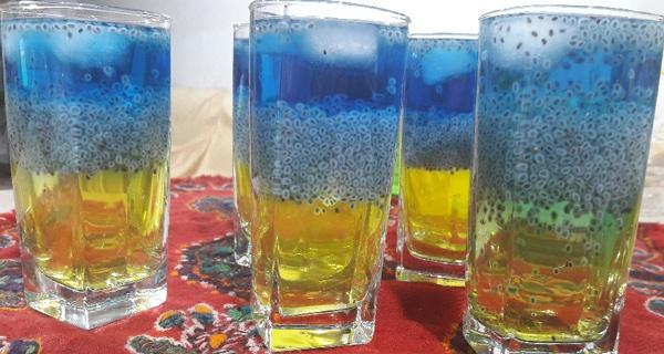 شربت سه رنگ