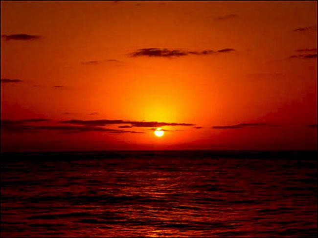 شعر غروب خورشید
