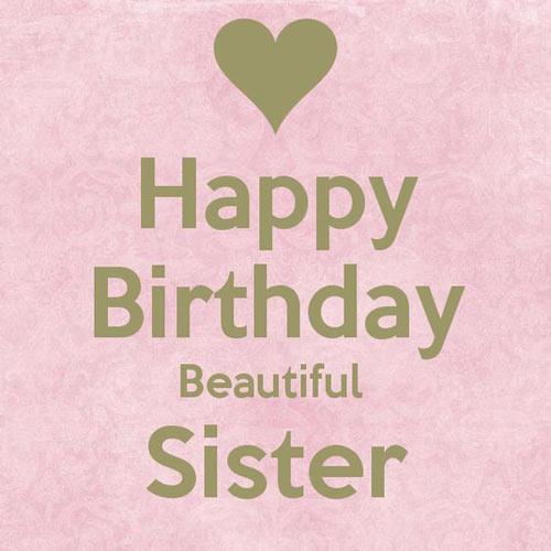 متن تبریک تولد خواهر