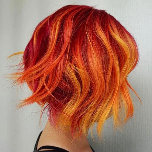 مدل های رنگ موی فانتزی