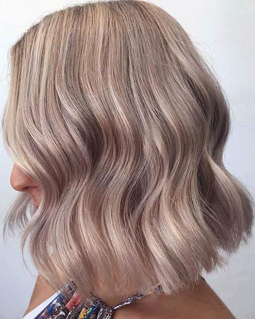 رنگ موی شامپاینی