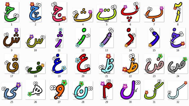 حروف الفبای فارسی