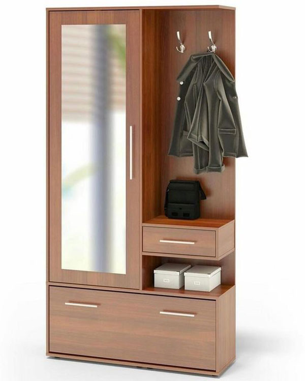 Full Length Wall Mirror Cupboard