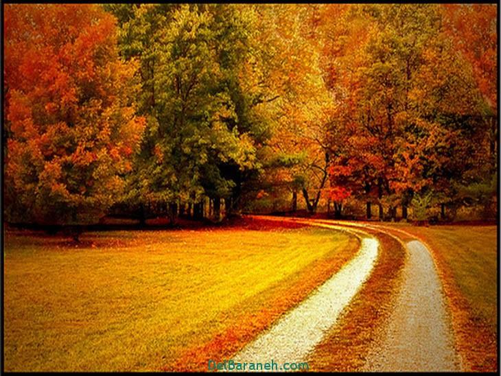 انشا در مورد توصیف پاییز
