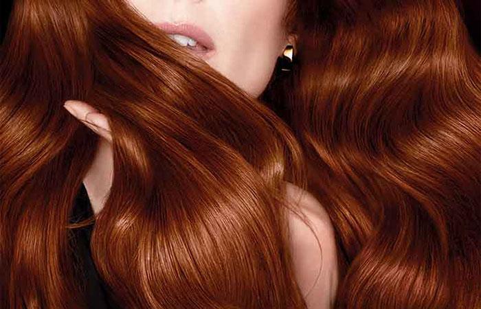 رنگ موی دارچینی