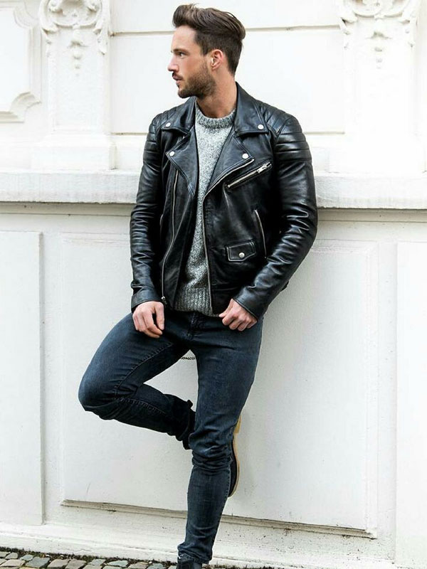 مدل کاپشن چرمی مردانه