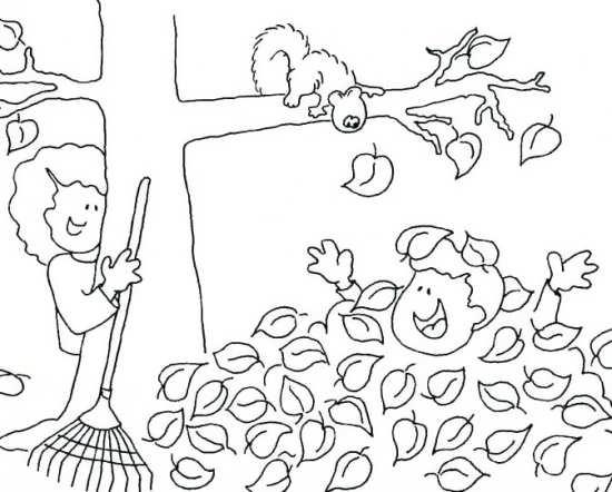 نقاشی پاییزی