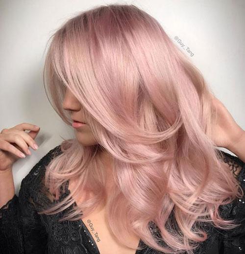 مدل رنگ موی پوست پیازی + فرمول و تصاویری از انواع این رنگ موی زیبا