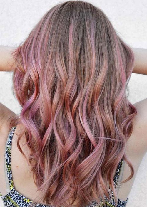مدل رنگ موی پوست پیازی