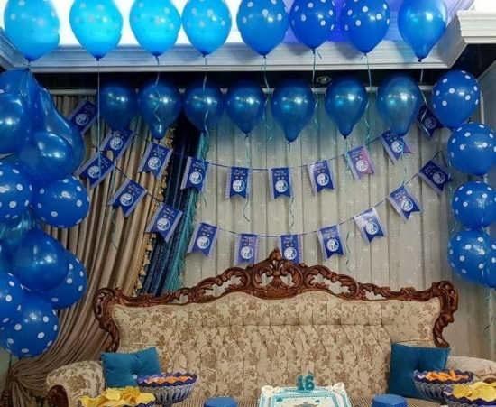 تزیین تولد پسرانه با طرح