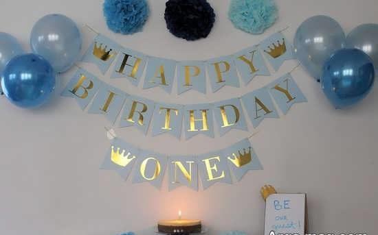تزیینات تولد پسرانه