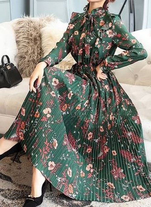 مدل لباس مجلسی آستین دار