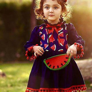 مدل لباس دخترانه شب یلدا