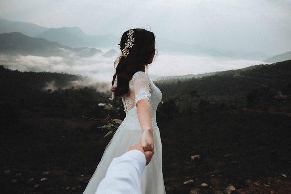 عکس اسپرت عاشقانه عروس و داماد