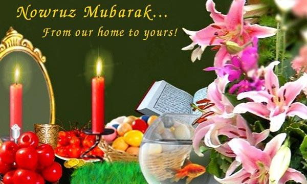 متن تبریک عید نوروز به انگلیسی