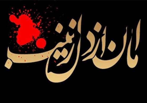 عکس نوشته وفات حضرت زینب کبری (س)