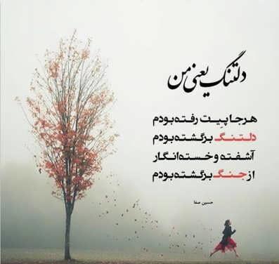 شعر دلتنگی عاشقانه یار
