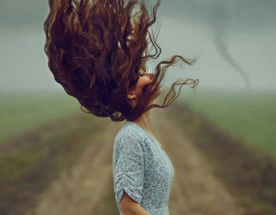 شعر در مورد موی فر